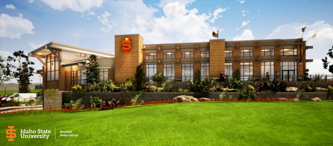 Artists Rendering of the Future Idaho State University Alumni Center