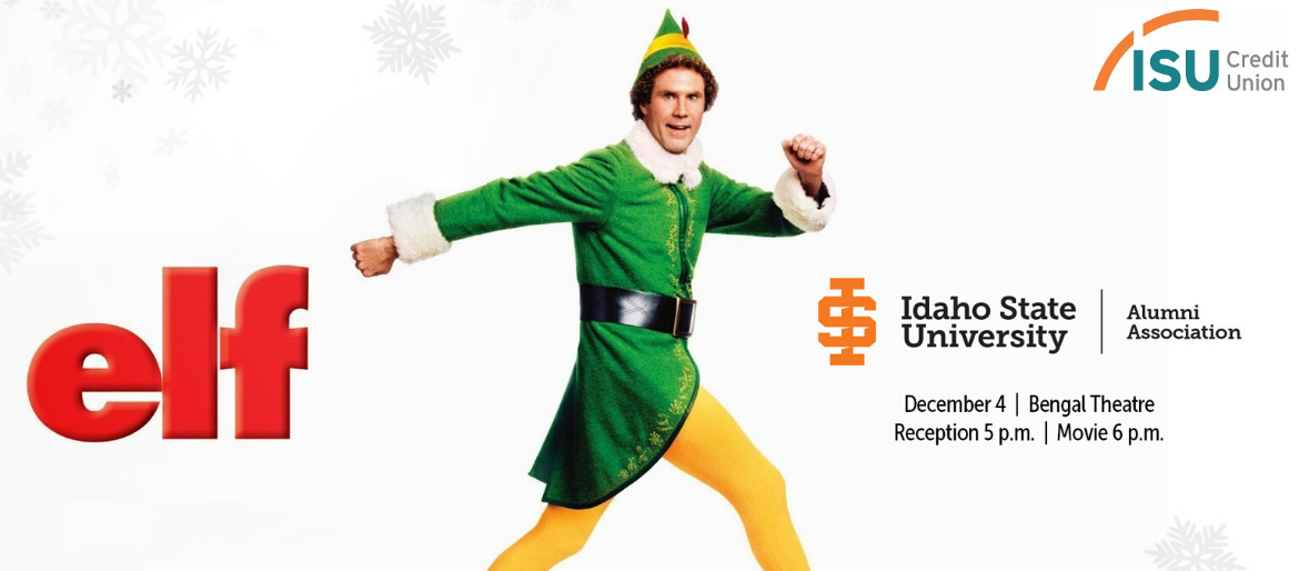 Movie poster image of the Holiday movie Elf