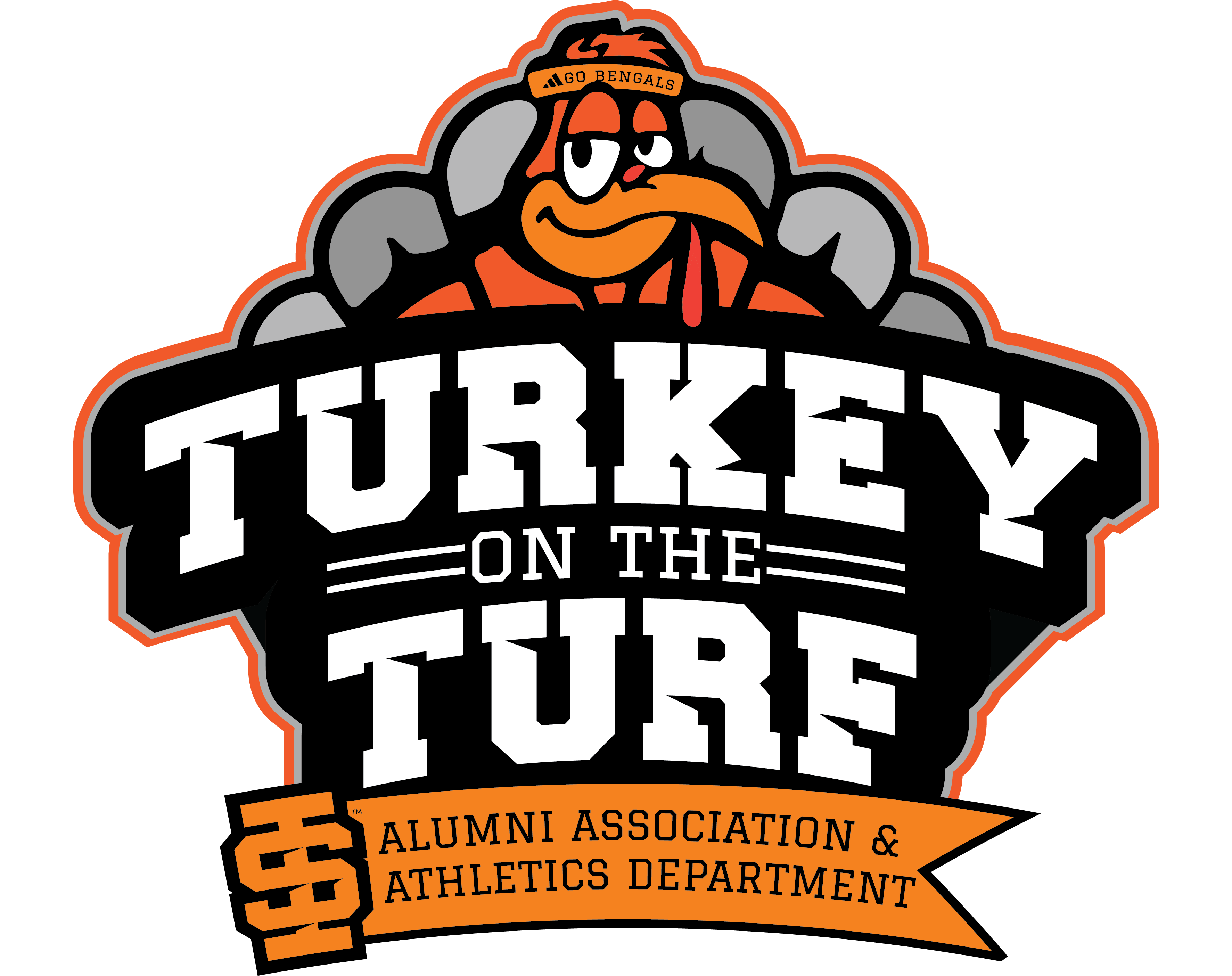 Logo of the Turkey on the Turf Student Event November 15th from 12 noon to 2pm
