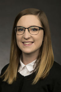 Sydnee Harris, ASISU Supreme Court Chief Justice