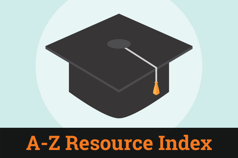 A-Z Resource Index