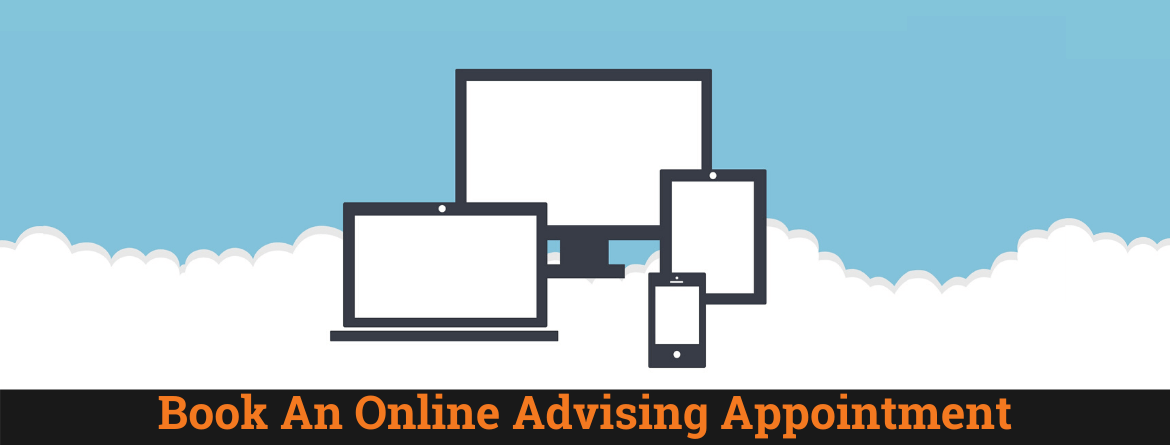 Book an online advising appointment.