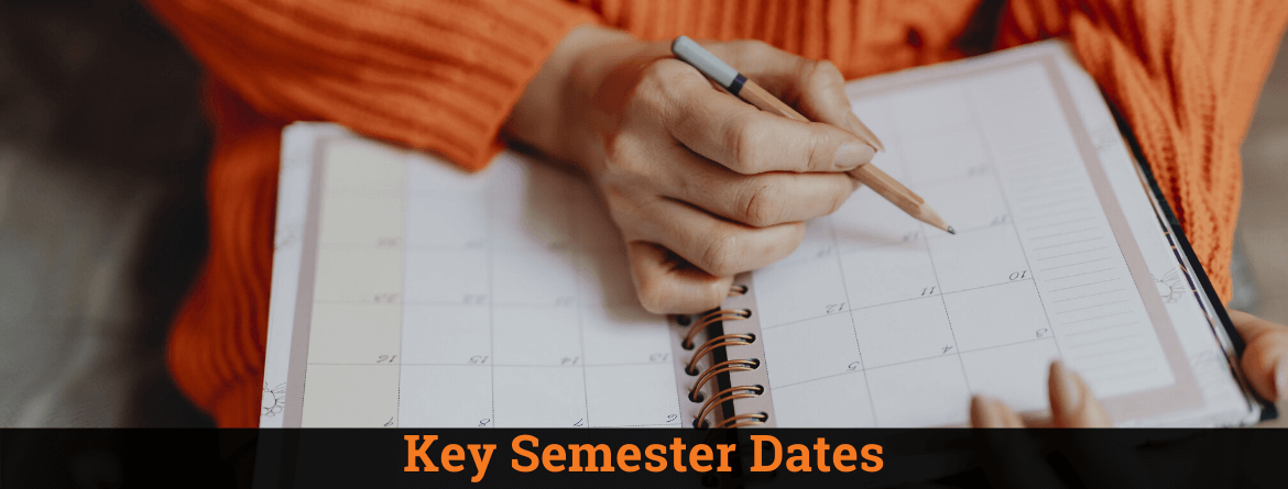 Key Semester Dates