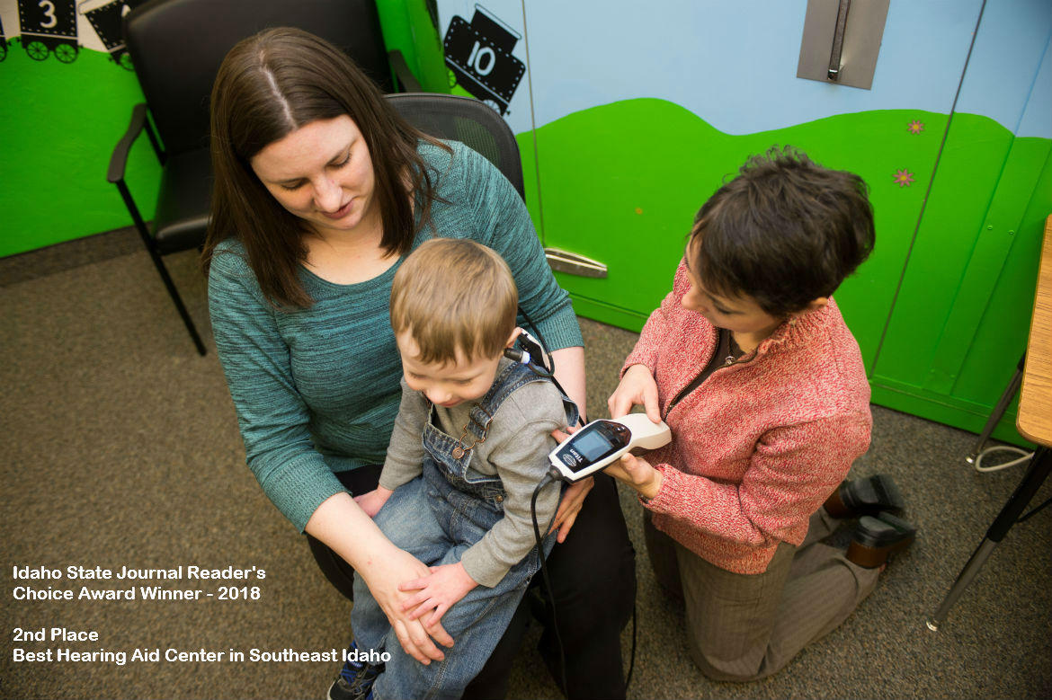 Hearing aid fitting with child