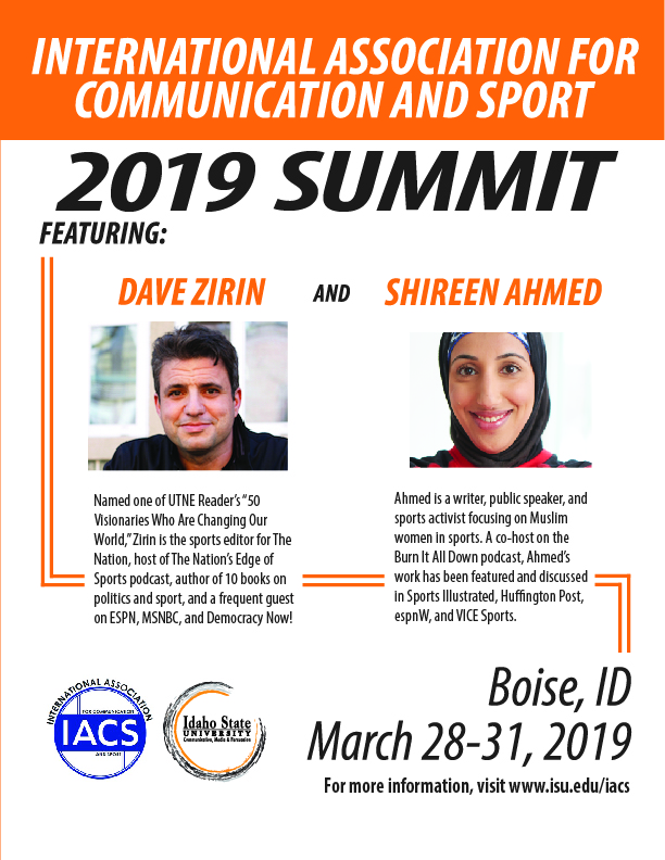 Promotional Poster for IACS 2019