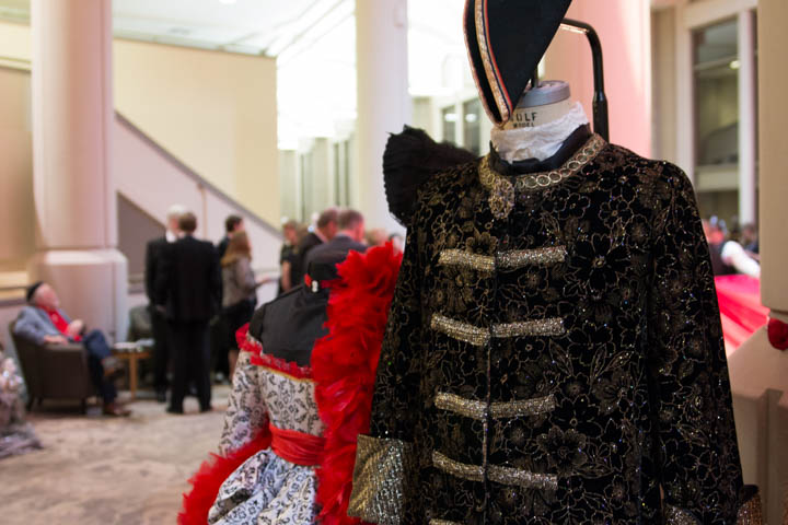 French period costumes designed by ISU professor