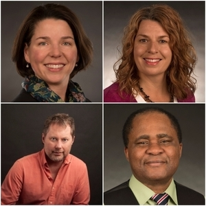 Four College of Arts and Letters Faculty Members Honored with 2017 Outstanding Researcher Awards