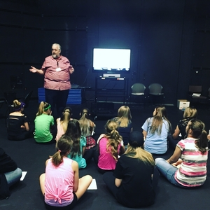 Students at the Conservatory Theatre Camp