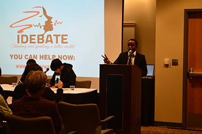 Debaters from Rwanda Travel to Idaho State University for Two-Day Event Focused on Living in a Post-Genocidal Generation