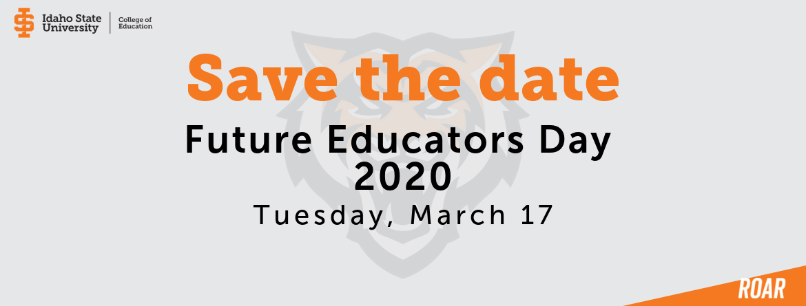 Save the date future educators day 2020