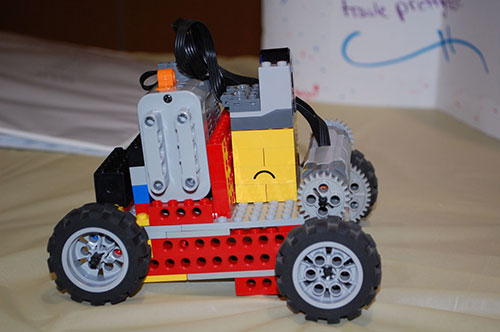 Lego model of the Mars Rover