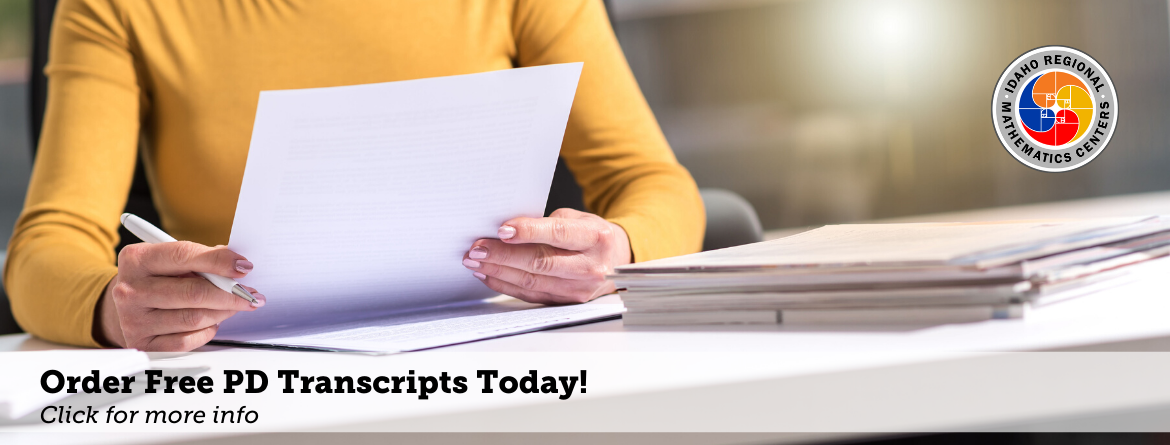 Order Free PD Transcripts Today! Click for more info
