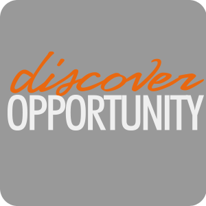 Discover opportunity