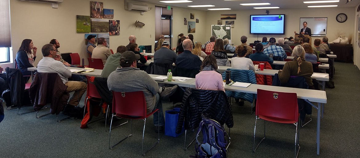Sagebrush Steppe Land Trust Workshop March 2018