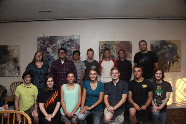 ISU Chemistry NSF S-STEM Orientation Dinner - Fall 2015