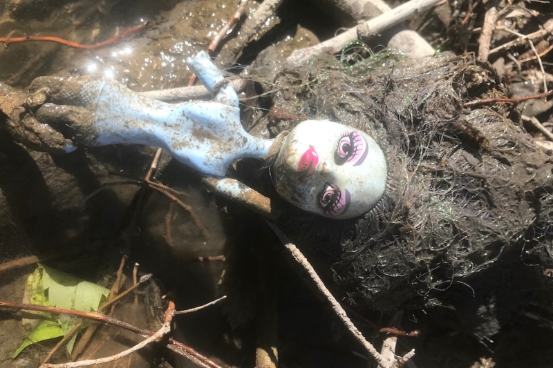 A doll found in the Portneuf River