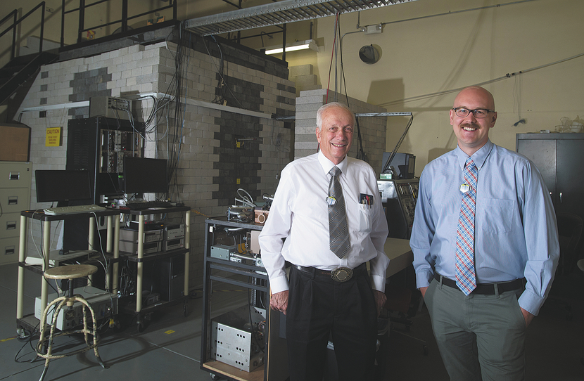 Nuclear Reactor Lab Dr. Kunze and Adam Mallicoat