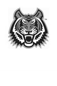 Black and white ISU Tiger mascot used in place of a staff picture