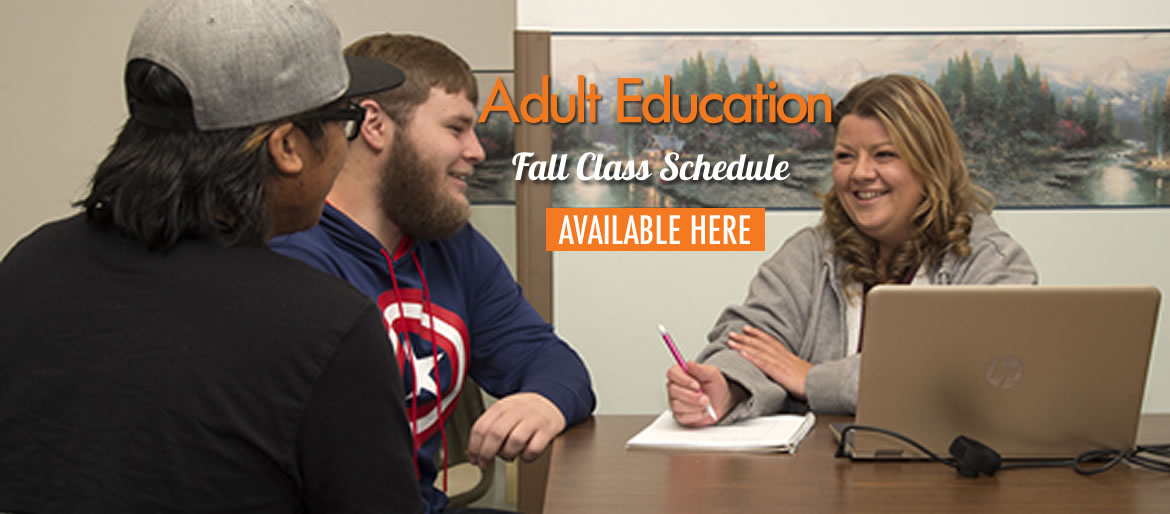 Adult Education Fall Class Schedule Available Here
