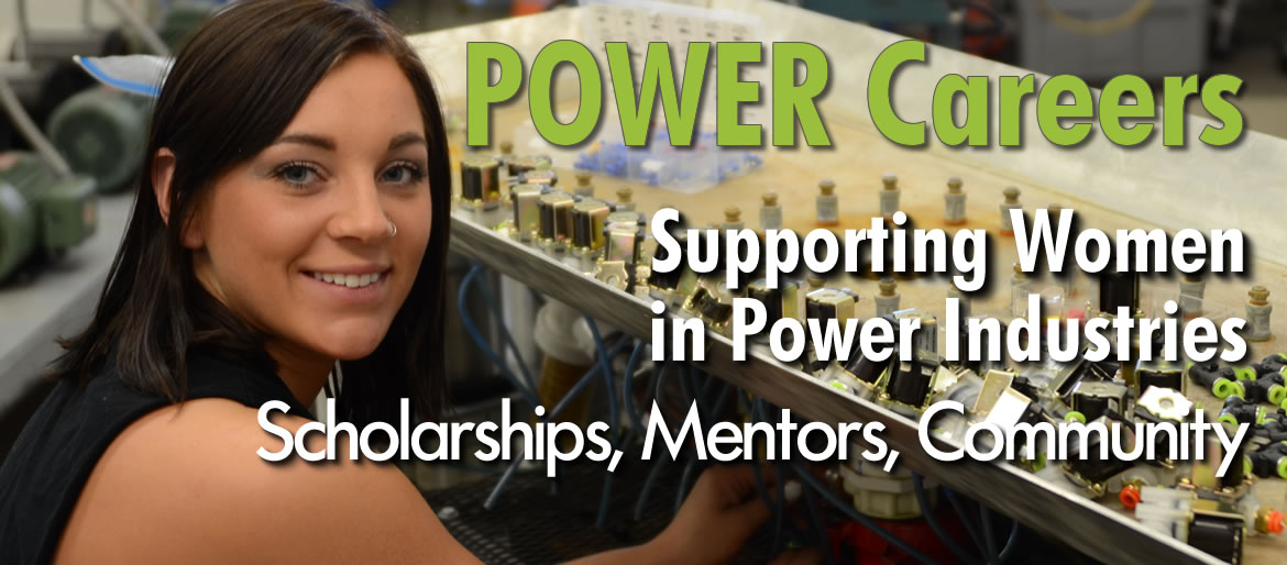 Pkower Careers -Supporting women in Power Industries through Scholarships, Mentors, Community