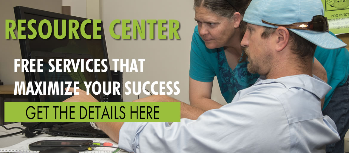 Resource Center, free services that maximize your success get the details here