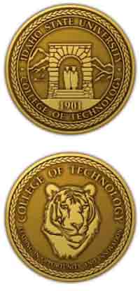 Image of ISU College of Technology Graduation Medallion