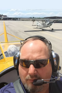 Barry Everett Aviation Maintenance Technology Instructor
