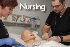 Nursing Students in SIM Lab