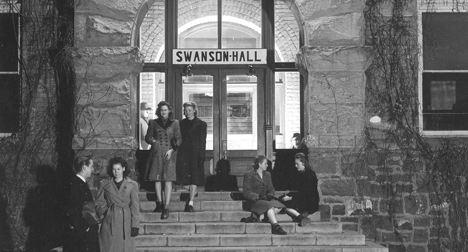 Swanson Hall in the 1930's