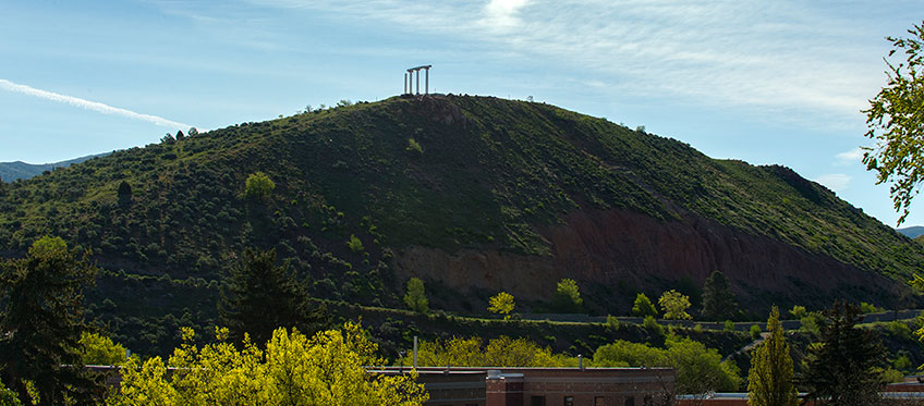 Red Hill on the ISU Campus