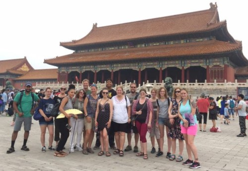 Group in Beijing