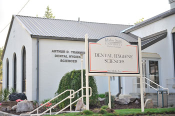 The Department of Dental Hygiene building