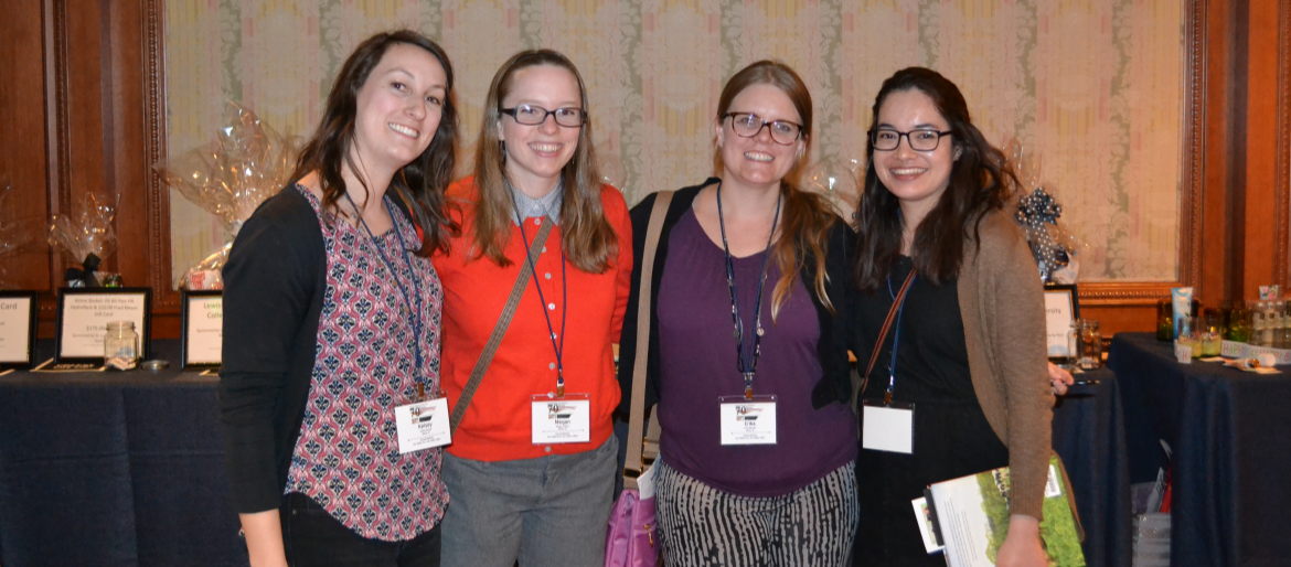 Dietetic interns at the state dietetic association meeting