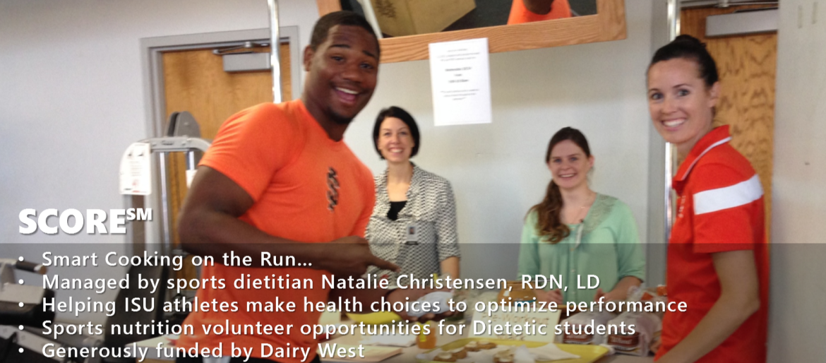 Sports dietitian educates African American athlete on the benefits of healthy eating to optimize athlete performance