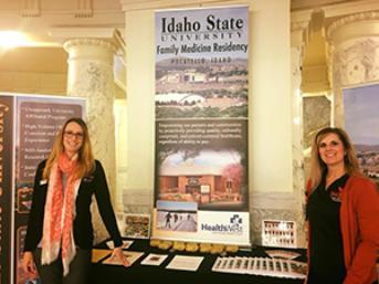 Faculty and staff from Family Medicine Residency at ISU Day at the Capitol 2018