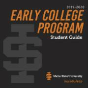 cover of ECP Student Guide with photos of students