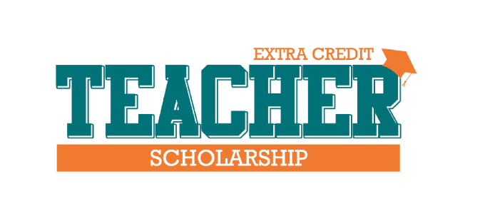 Teacher scholarship logo