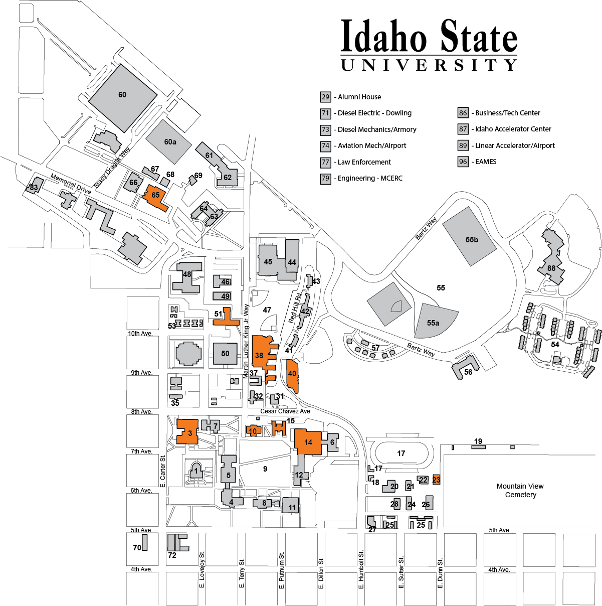 idaho state university campus map Inclusive Restrooms Idaho State University idaho state university campus map