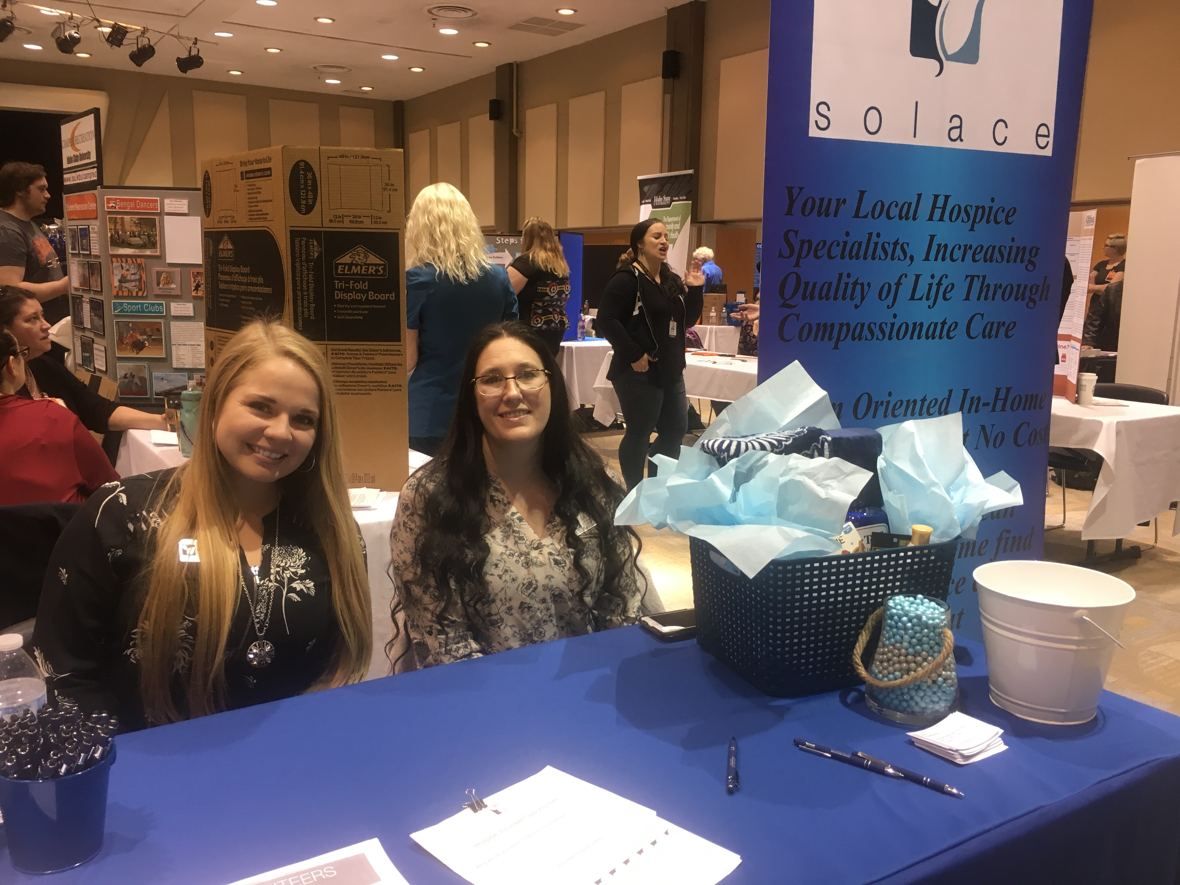 Solace Hospice at ISU Health Fair 2018