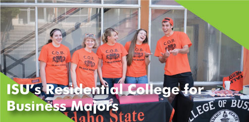 ISU's Residential College for Business Majors