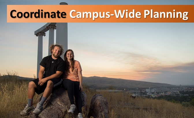 Coordinate Campus-Wide Planning