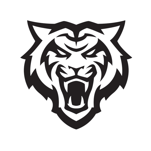 1-Color Black bengal logo