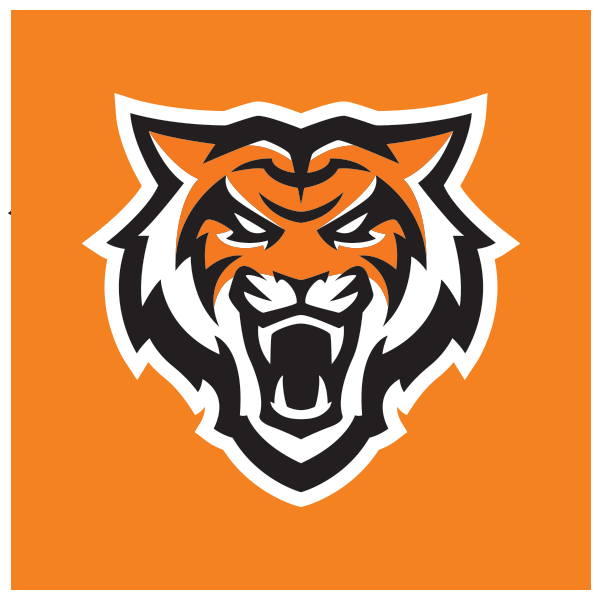 2-color Bengal logo with white stroke