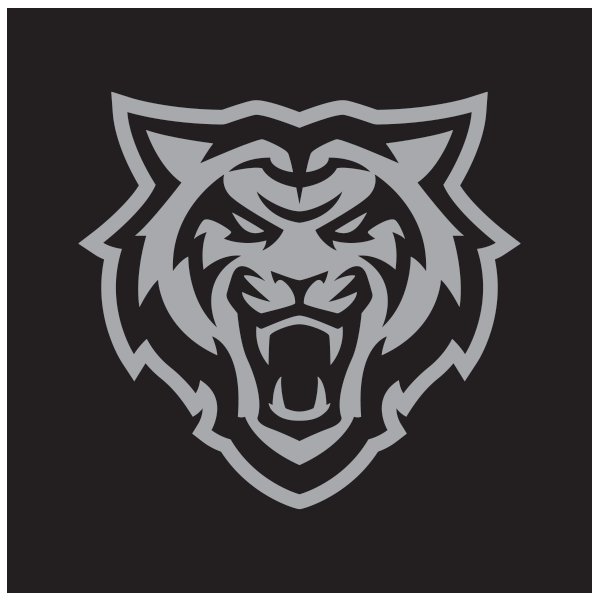 Reversed Bengal head Logo in Gray