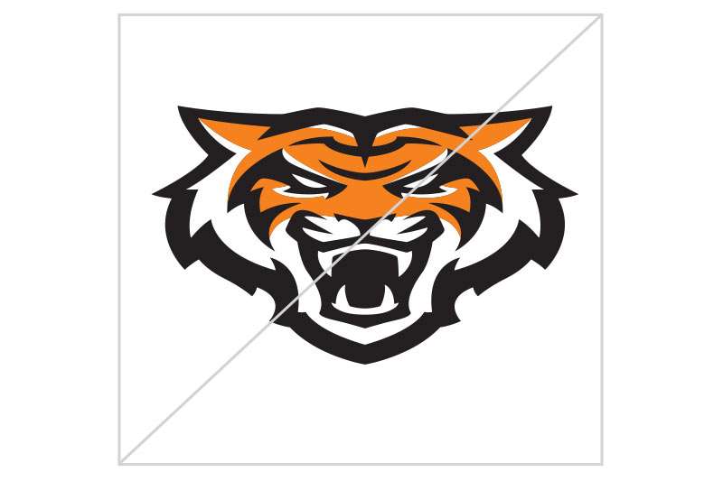 Do not stretch the logo, Bengal head