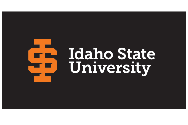 ISU logo reversed application