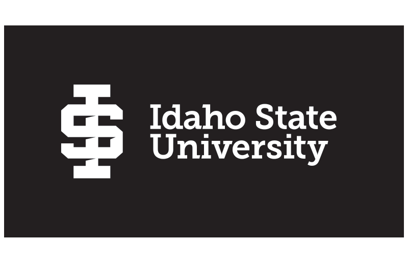 ISU logo white application