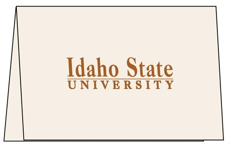 Idaho state invitation card