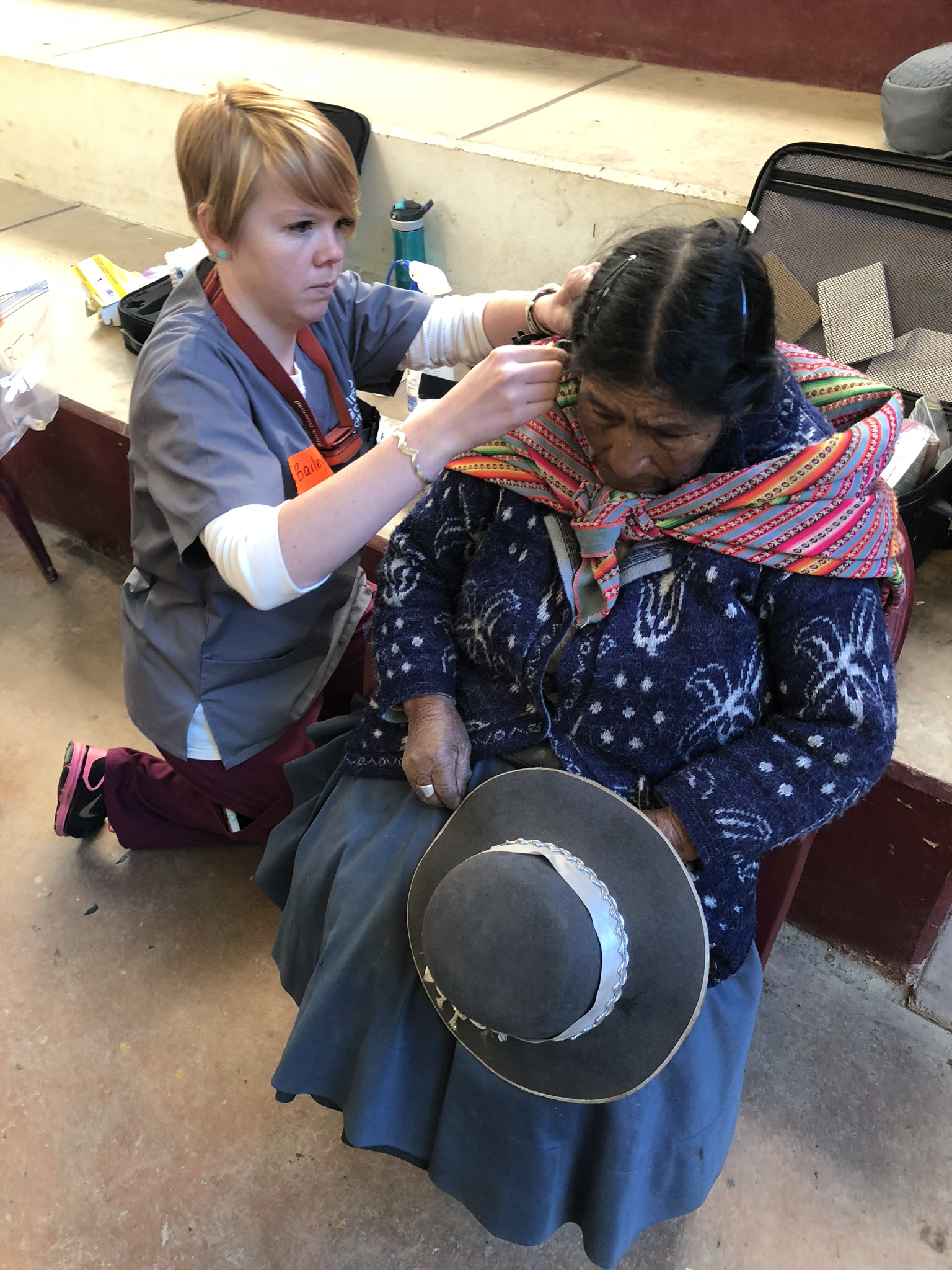 Idaho State University audiology team fits 24 Peruvian villagers with hearing aids on mission with Idaho Condor