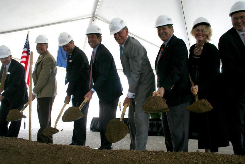 ICOM breaks ground on state's first medical school next to ISU-Meridian